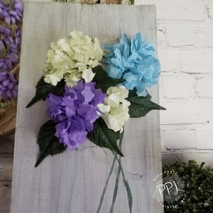 coffee filter flowers DIY crafts ,home decor