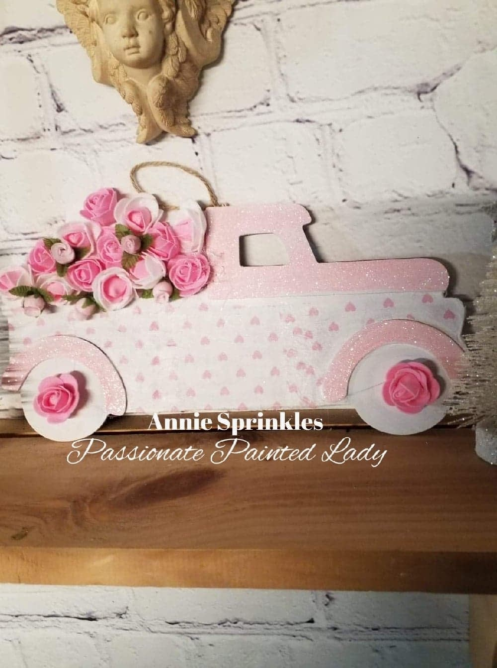create a vintage truck for any season to use in your home decor